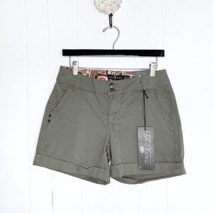NEW One 5 One Olive Green Cargo Shorts Size 4